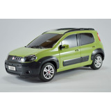 Fiat Uno Way Verde 1:18 Controle Remoto Seminovo