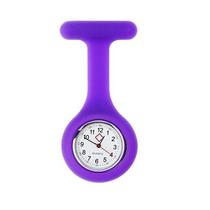 Relógio Para Jaleco - Roxo - Enfermagem / Medicina