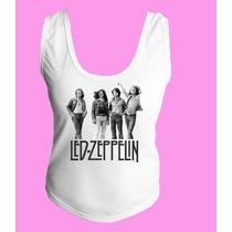 Camiseta Regata Nadador Lez Zepellin Classic Hard Rock 5