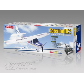 Avião Art-tech Cessna 182 4ch 2.4ghz Brushless Rtf 9268