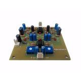Compressor De Áudio Estéreo - Placa / Serve Para Web Rádio.