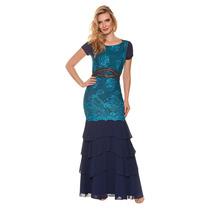 Oferta Vestido Vestido Sicília Babados Musseline Sem Juros