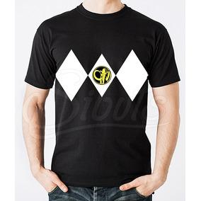 Playera Hombre Con Diseño Power Ranger Black Varias Tallas
