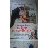 Gordon Scott Afiche El Leon De San Marcos