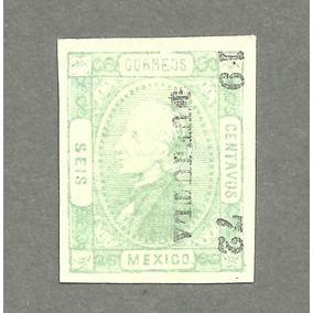 Hidalgo 1872 Distrito Huejutla Emisión 3000 !!