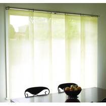 Persiana Panel Japones Cualquier Material Instalada.