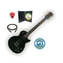 Guitarra Electrica Les Paul Parquer Pua Cable Dvd - La Roca