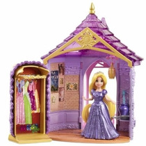 Castelo Magic Clip Princesas Disney Rapunzel - Original Novo