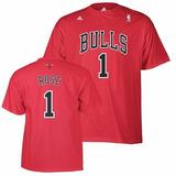 Camiseta - Nba - Chicago Bulls Derrick Rose - Talla Xl