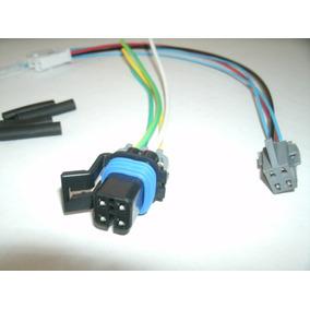 Conector Plug Chicote Tampa Bomba S10 Blazer Kit 02 Peças.
