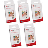 5 Pack Papel Fotografico Lg Pocket Ps2203 Pd233 Zinc