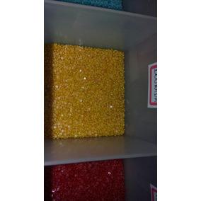 1.000 Meia Pérola Cor Dourada De 1,5mm