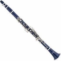 Clarinete Con Estuche Y Accesorios Color Azul