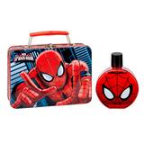 Perfume Spiderman 100m En Valija De Metal