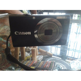 Cámara Canon Powershot A2500 16 Megapixeles Negra