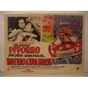 Piporro , Ruletero A Toda Marcha , Cartel De Cine