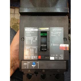 Interruptor Termomagnetico 3x250 Amperes Square D Jga36250