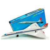 Avion Concorde A Pila 1976 Nuevo Chapa Japon Juguetes Lloret
