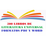 500 Libros Digitales De Literatura Universal:novelas,