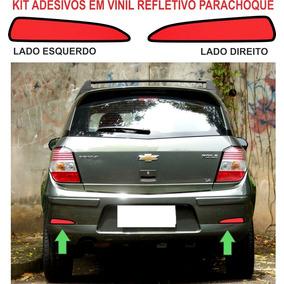 Acessorios Refletivo Parachoque Adesivo Chevrolet Agile