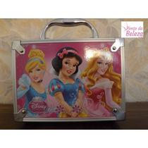Maleta Maquiagem Kit Infantil Princesas