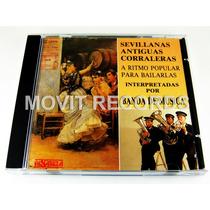 Banda De Musica Sevillanas Corraleras Cd Como Nue 1991 Spain