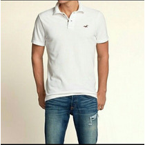 Playera Hollister Tipo Polo 100% Algodon