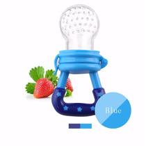 Chupeta Alimentadora Suco Frutas Bebê Bico Silicone Mordedor