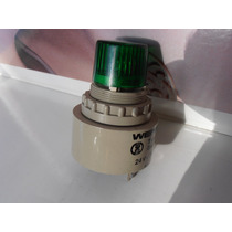 Lampara Con Buzzer Para Tablero Luz Verde 24v 20ma