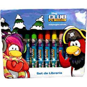 Set De Librería Club Penguin -minijuegosnet