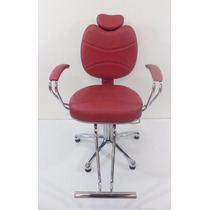 Poltrona Cadeira Fixa Topazio Hidraulica Salao Cabeleireiro
