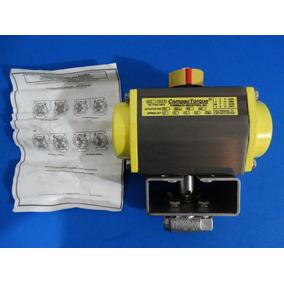 Valvula Con Actuador Neumatico Compactorque 3ts-030-60a 1/4