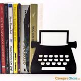 Porta-livros Máquina De Escrever. Presentes Porto Alegre