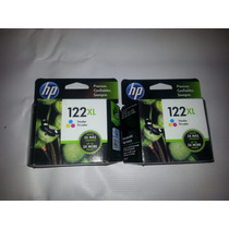Cartuchos Originales Hp 122 Xl Color