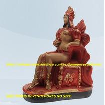 Linda Escultura Pombagira Cigana Rainha Imagem 60cm Unica