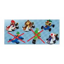 Mario Kart Mc Donalds 2015 -lote Com 4 Bonecos-mcdonalds