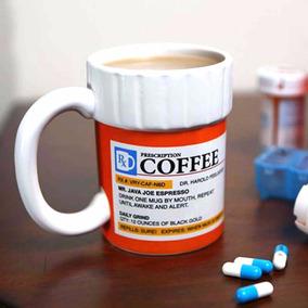 Taza Para Café Frasco De Medicina Big Mouth Toys Importada