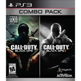 Ps3 Call Of Duty Black Ops Combo Pack (call Of Duty I Y Ii)