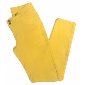 Calça Feminina Sarja Preta Pequeno Defeito Plus Size 7010