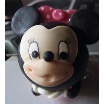 Recuerdo De Mimi, Minnie,mickey En Pasta Francesa O Flexible