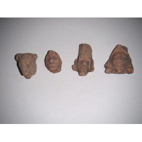 Reliquias: Cabezas De Barro Totonacas