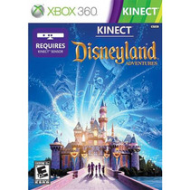 Disneyland Adventures Xbox 360 Kinect Nuevo Disco Fisico