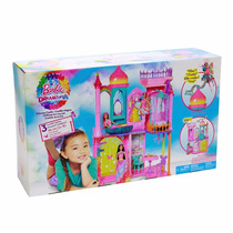 Barbie Castillo De Princesas 3 Niveles 95 Cm 360° Mattel