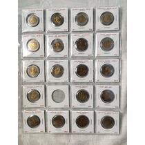 37 Monedas $5 Pesos Conmemorativas Bi-centenario 2008 - 2010
