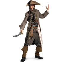 Disfraz Pirata Jack Sparrow Piratas Del Caribe Para Adultos