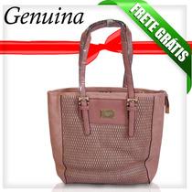 Bolsa Feminina Em Couro Veryrio Rose1368
