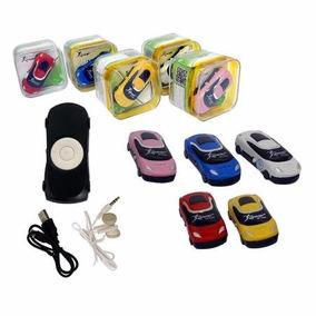 Aparelho Mini Mp3 Player Knup Carrinhos Kp-4005