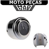 Acessório P Harley Custom Termômetro Moto Guidão Z
