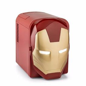 Avengers Marvel Iron Man Mini Refri 3d Con Luz En Los Ojos