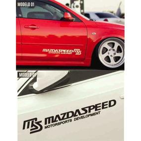Calcomanias, Calcas Mazda Speed Motor Sport Development